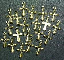 20 PIECES Cross Charms Pendants Christian Jewelry Beading Arts & Crafts Project