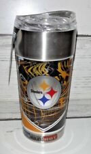 NFL Pittsburgh Steelers 24oz. Vacuum-Insulated Tumbler