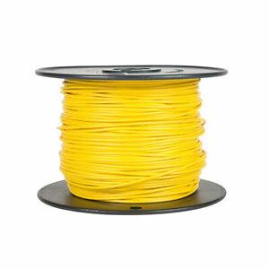 100ft 20awg 20ga Belden 9919 PVC Yellow 300V Stranded Copper Wire