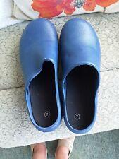 GARDENING CLOGS  UK 7 Blue