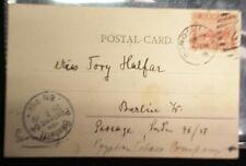 "Hawaiian Postal cards ""Pioneer"" Berlin 1899  Scott #75  P#5"
