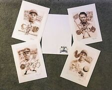 """BIG LEAGUERS"" ...Signed NEGRO LEAGUES  Lithographs  by CHRISTOPHER PALUSO"