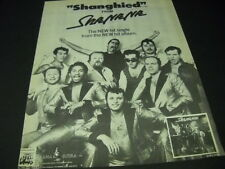 SHA NA NA gets SHANGHIED on Kama Sutra 1975 PROMO POSTER AD mint condition