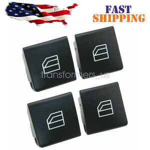 Window Switch Button Cover Cap For Mercedes-Benz W204 C-Class W212