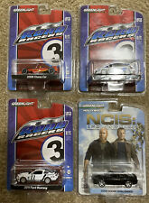 Greenlight Diecast Lot 1/64-Road Racers 3, Hollywood Series Mustang, Challenger