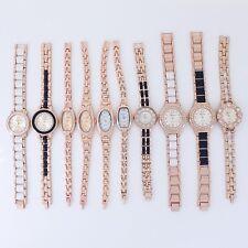 10pcs Bulk Rose Gold Lady Women Watch Dress Wristwatches JB6T (Battey Included)