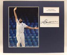 RARE Monty Panesar England Cricket Signed Photo Display + COA AUTOGRAPH ASHES