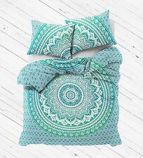 Indian Duvet Doona Cover Ombre Mandala Hippie Bohemian New Quilt +2 pillow Cover