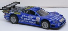 1/43-MERCEDES CLK-GRT RACE VERSION IN BLUE - GOOD CONDITION