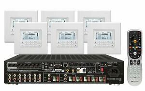 RUSSOUND KT2-66 KIT Multi Zone Controller With 6 Keypads KT266 Brand New
