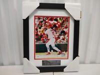 Jim Edmonds St. Louis Cardinals Autographed 8x10 Photo Framed & Matted JSA