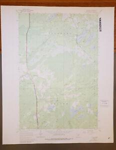 "Cotton, Minnesota Original Vintage 1969 USGS Topo Map 27"" x 22"""