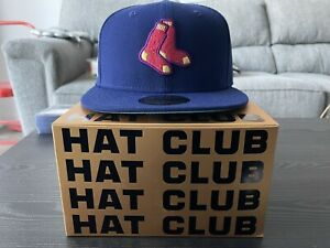Hat Club Exclusive Interstellar Jelly Boston Red Sox Fitted - 7 3/4 - In Hand!