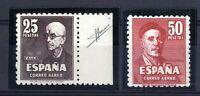 Sellos de España 1947 nº 1015-1016 Falla y Zuloaga sellos nuevos ref.03