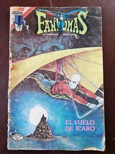 FANTOMAS EL VUELO DE ICARO mexican comic book from 80's NOVARO AVESTRUZ