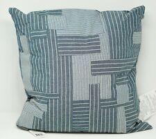 "Lauren Ralph Lauren Hanah 100% Cotton 18"" Pieced Decorative Pillow - Blue Multi"