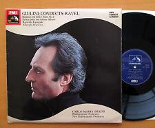 SXLP 30198 Giulini Conducts Ravel Daphnis And Chloe etc HMV Stereo EX/VG
