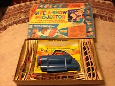 Kenner's 1962 Give-A-Show Projector Battery Operated vintage No.503