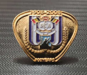 PIN RSC ANDERLECHT CLUB BADGE CENTENARY