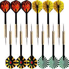 12 pcs (4 sets) of Steel Needle Tip Darts Popular Dart Flights