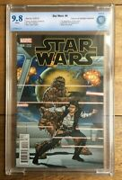 Star Wars #4 1:25 Camuncoli Retailer Variant 1st App of Sana Solo CBCS 9.8