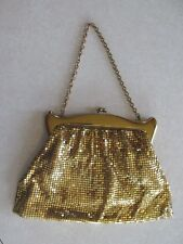 pp2 Vintage purse Gold sequin evening dress handbag Whiting & Davis