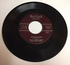 VIVIAN HOLLY, LOTS OF LOVE, BALLAD#1015, RARE 45 RECORD