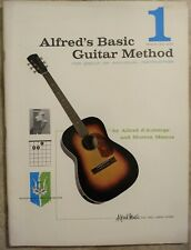 1959 Alfred's Basic Guitar Method for Group or Individual Instruction .