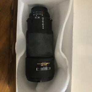 Nikon Nikkor AF 80-200mm 1:2.8 D AF Macro zoom ED  Bought New. 1 Owner