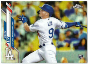 2020 Topps Factory Set Chrome Refractor Photo Variation #292 Gavin Lux-RC Rookie