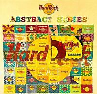 Hard Rock Cafe Dallas Pin #22 of 64 Abstract Puzzle Series 2002 LE New # 12078