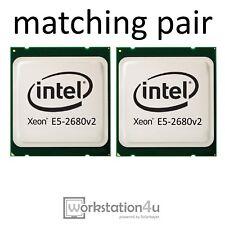 10 x Intel Xeon E5-2680v2, 10 Core 2,8Ghz bis 3,6GHz LGA 2011 (5x matching pair)