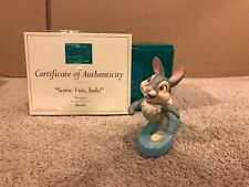 "WDCC Bambi - Thumper ""Some fun, huh?"" + Box & COA"