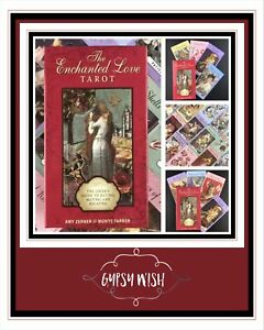 Amy Zerner & Monte Farmer - The Enchanted Love Tarot BRAND NEW (Electronic Guide