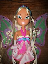 "Winx Club Super Fate Flora Enchantix Doll 19,7"" GIOCHI PREZIOSI RARE"