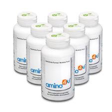 (284.72€/1kg) 6 x 120g Dose Amino 4 U 8 essenziellen Aminosäuren Muskelaufbau