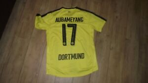 ancien Maillot DE FOOTBALL  PUMA Borussia Dortmund  2014 Aubameyang