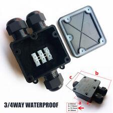 Verteilerbox Kasten IP68 Wasserdicht Kabelsteckverbinder 3 Wege Abzweigdose