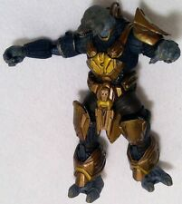 Halo Microsoft core action figure 2003 tmp bad guy video game toy articulated