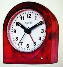 Acctim Palma Alarm desk clock Red 15064