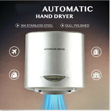Commercial Electric Hand Dryer Machine W/Auto Touchless Tech Stainless Steel US
