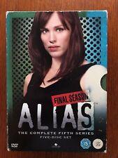 Alias: Season 5 DVD Region 2 Disc's VGC