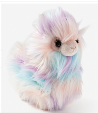 Justice Girls Long Hair Llama Plush Stuffed Animal Collectible Exclusive