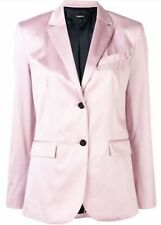Theory Fitted Single Breasted Blazer Lilac Pink Size 8 Women
