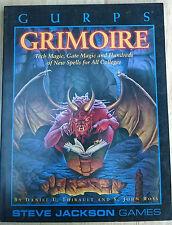 GURPS – GRIMOIRE - Steve Jackson Games sourcebook guide RPG JDR