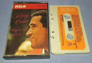 PERRY COMO SING TO ME MR C PAPER LABELS cassette tape album T9079