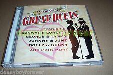 Time Life Classic Country Great Duets 2 CD Set 30 songs Made in USA by Sony 2004