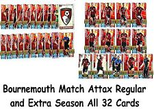 Match Attax + Extra 2015/2016 32 x Bournemouth Cards Base Set 2015 2016 15/16