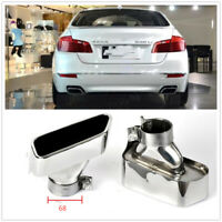 Silver Exhaust Tip Stainless Steel Muffler Pipe for BMW F10 F18 5 Series W