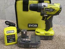 Ryobi 18V Brushless Percussion Drill set +2×2ah battery